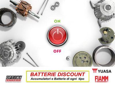 offerta ricambi motorini avviamento promozione alternatori automobili batterie discount