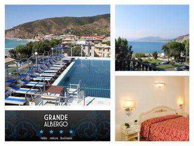 offerta albergo con piscina sestri levante promozione hotel mare hotel grande albergo