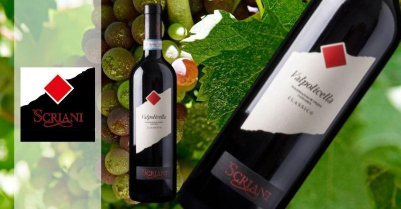 Azienda Agricola SCRIANI - Trova chi vende online vino pregiato Valpolicella DOC Classico 2019