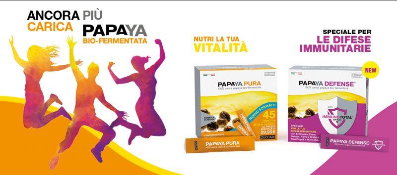 promozione Papaya bio-fermentata - offerta papaya orosolubile difese immunitarie Erbolandia Vic