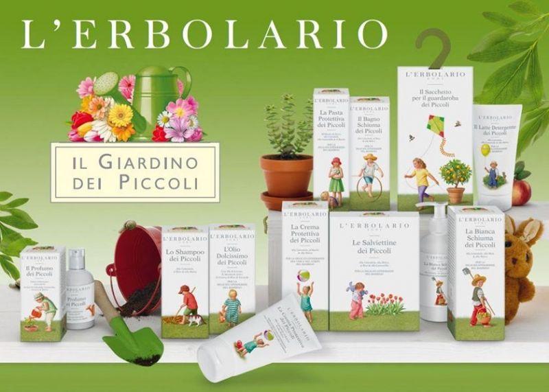 Promozione Giardino dei Piccoli - offerta L'Erbolario bimbi Erbolandia Vicenza