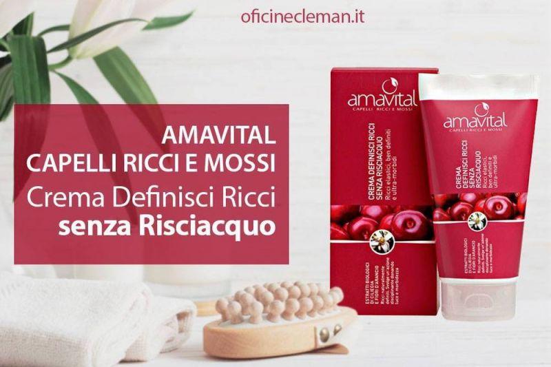 Amavital Crema Definisci Ricci - Shampo Anticrespo Erbolandia Vicenza