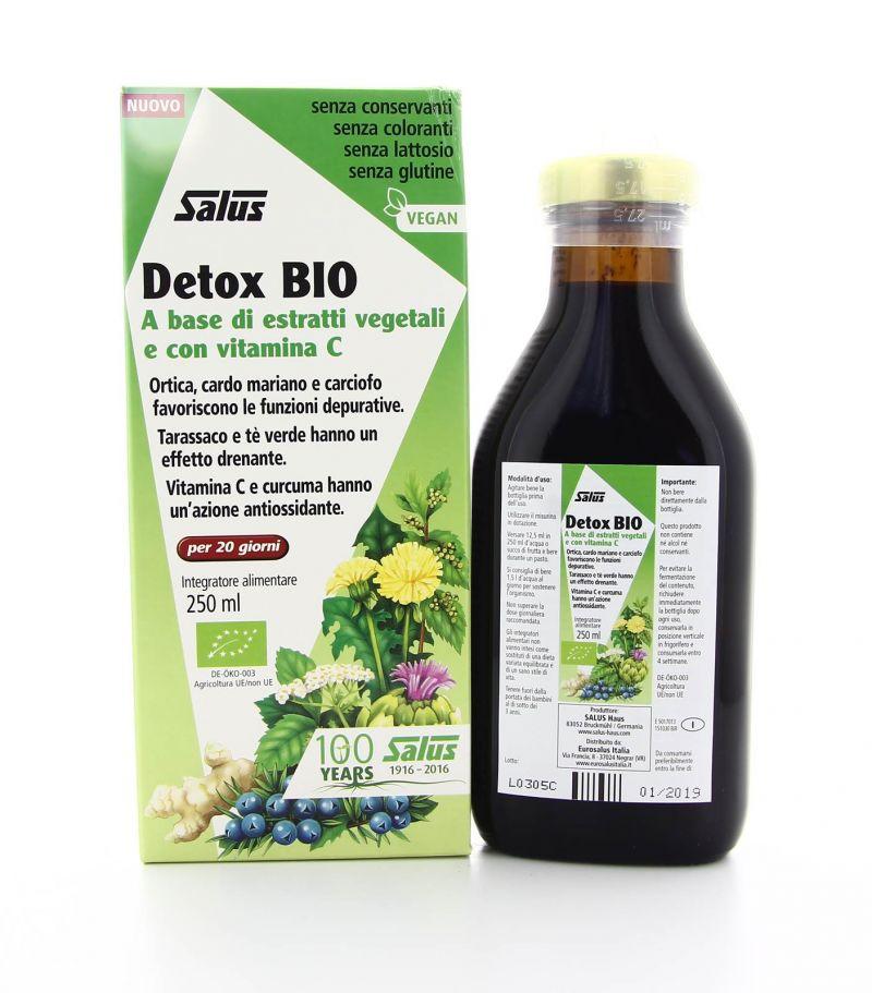 Promozione Detox Bio Salus - Depurativo fegato Erbolandia Vicenza