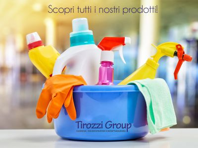 offerta detergenti promozione prodotti pulizie tirozzi group