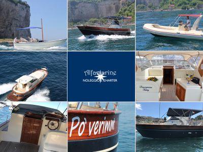 offerta noleggio barche charter penisola sorrentina promozione tour capri amalfi positano