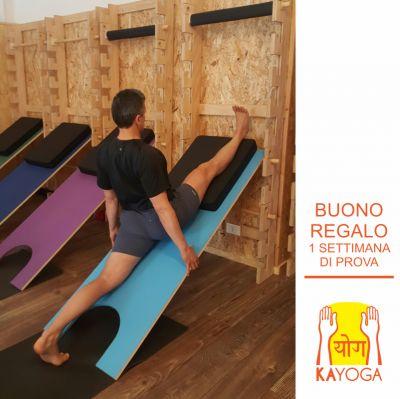 offerta corsi di yoga promozione settimana di prova buono regalo kayoga brescia
