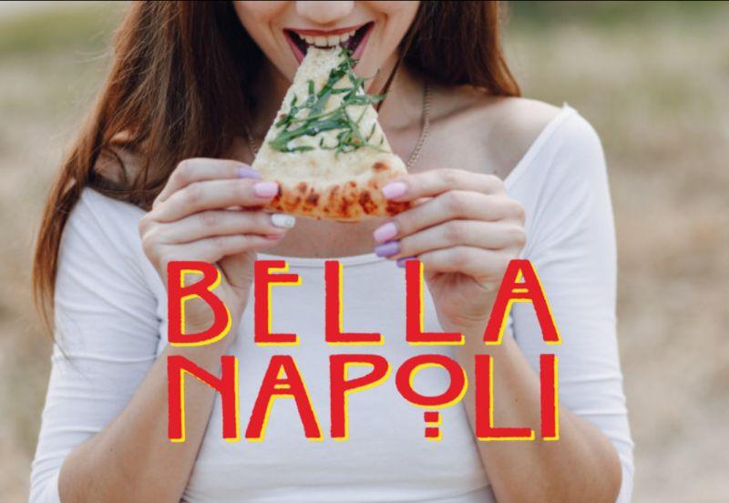 BELLA NAPOLI offerta pizza napoletana d'asporto – promozione pizzeria takeaway