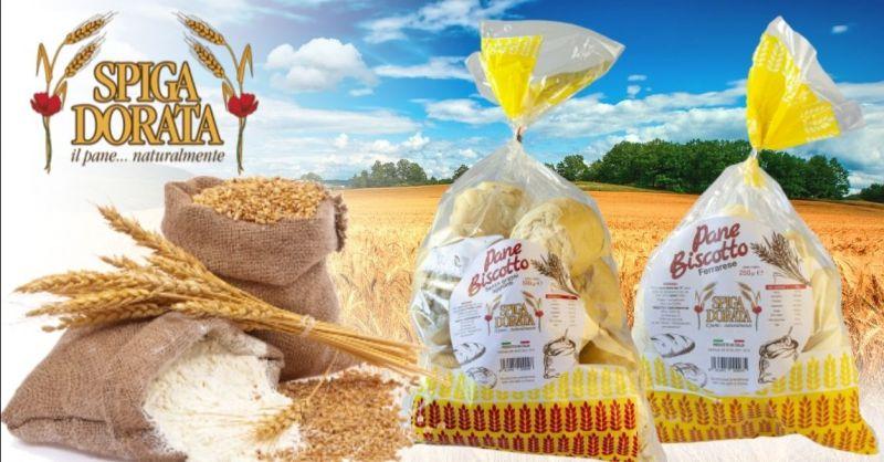 Offerta produzione artigianale pan biscotto - Occasione fornitura pane biscotto ferrarese provincia Verona