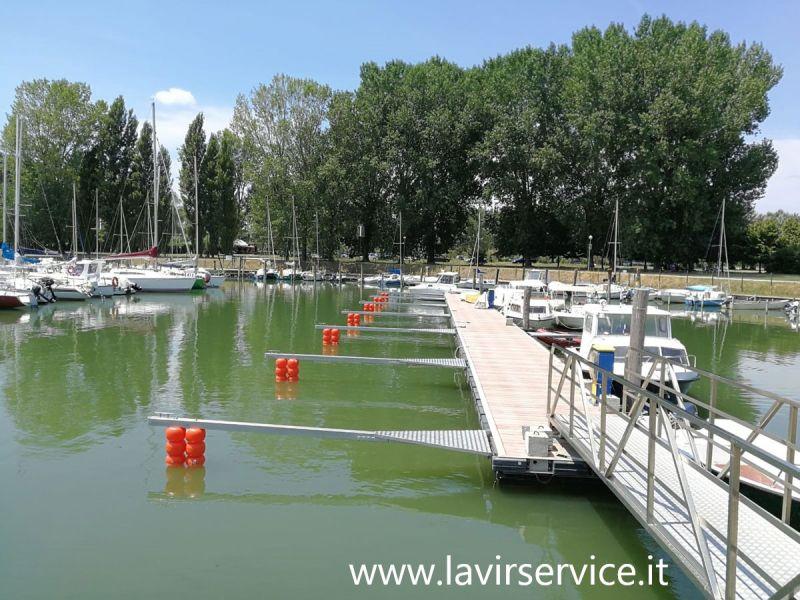 LA.VIR. SERVICE offerta pontili e passerelle galleggianti Castiglione del Lago