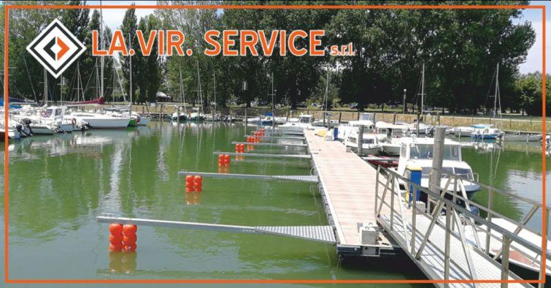 vir service offerta accessori per il comparto nautico- occasione lavorazioni pontili perugia