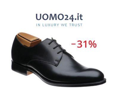 offerta churchs oslo derby occasione scarpa uomo vera pelle fior di vitello uomo24