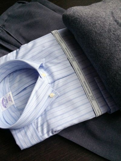 camicia uomo camicia button down camicia celeste brooks brothers