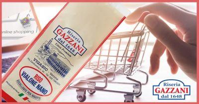 riseria gazzani 1648 offerta vendita online miglior riso vialone nano linea premium made italy