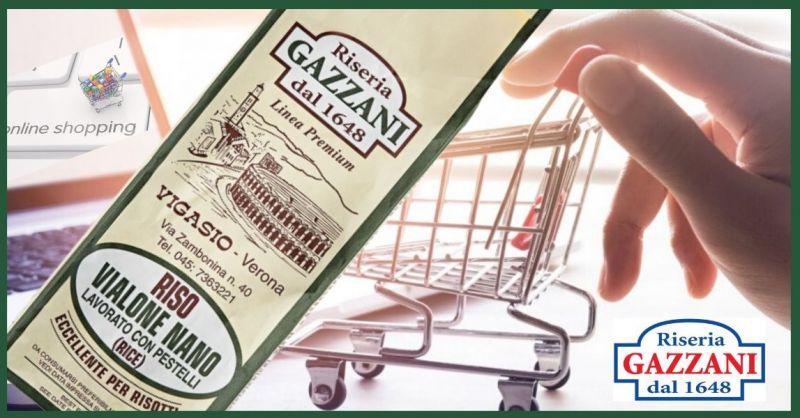RISERIA GAZZANI 1648 - Promozione vendita online miglior RISO VIALONE NANO made Italy