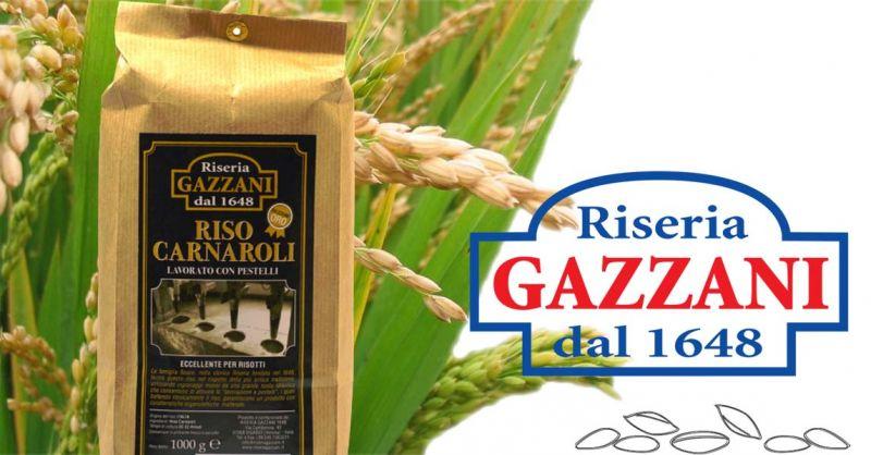 Offerta produttori italiani di riso carnaroli lavorato a Pestelli - Occasione Riso Varietà Carnaroli quaità Oro
