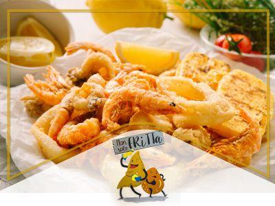 offerta frittura di pesce promozione pesce fritto occasione friggitoria non solo fritta
