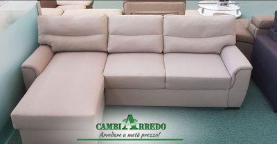 offerta divano a tre posti con penisola piacenza occasione divano letto contenitore parma