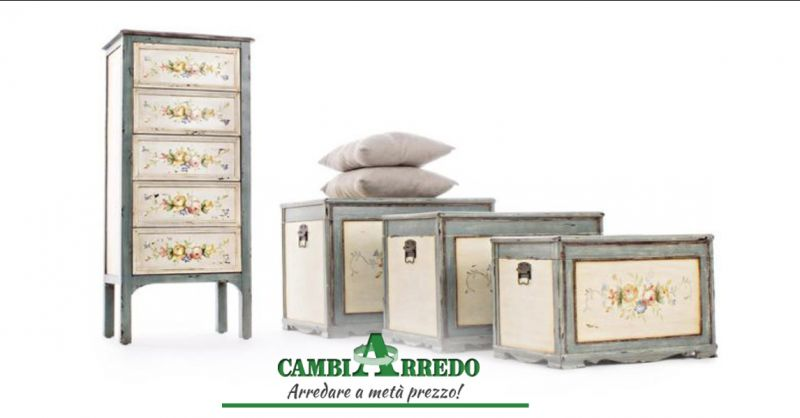 Offerta Set Bauli by Bizzotto Piacenza - Occasione Vendita Bauli vintage retrò Parma