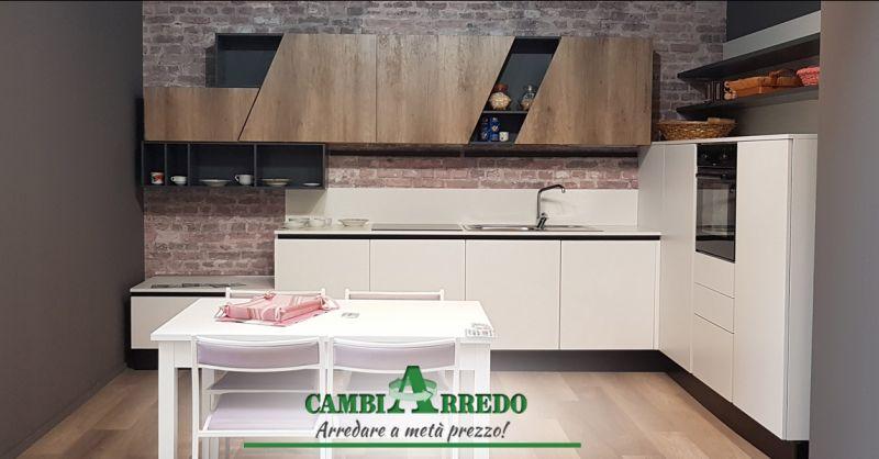 Offerta Cucina completa di Elettrodomestici Piacenza - Occasione Cucine ad Angolo moderne Parma