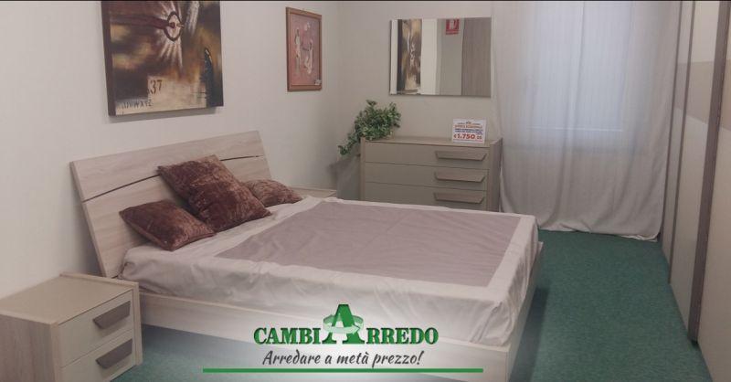 Offerta Camera da letto matrimoniale completa Piacenza - Occasione Outlet camere Parma