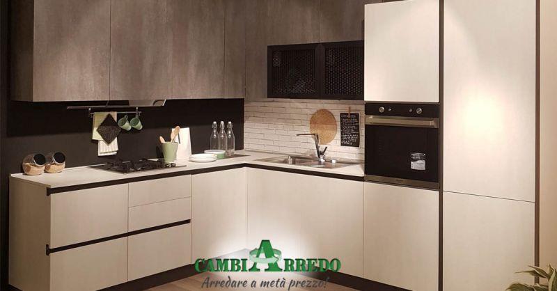 Offerte di CUCINE ad angolo Piacenza - Occasione Cucina angolare Completa Piacenza