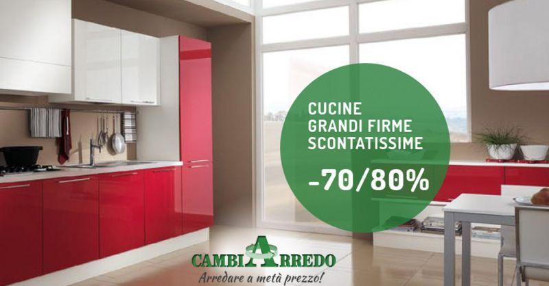Offerta Cucine di firma a prezzi scontati Piacenza - Occasione Cucine Moderne e di Design Piacenza