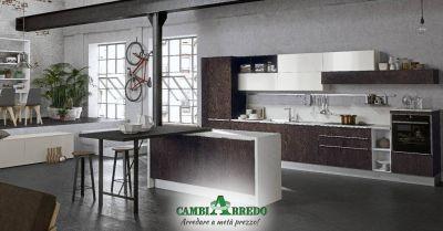 offerta cucina componibile completa di elettrodomestici piacenza occasione cucina stile industriale parma