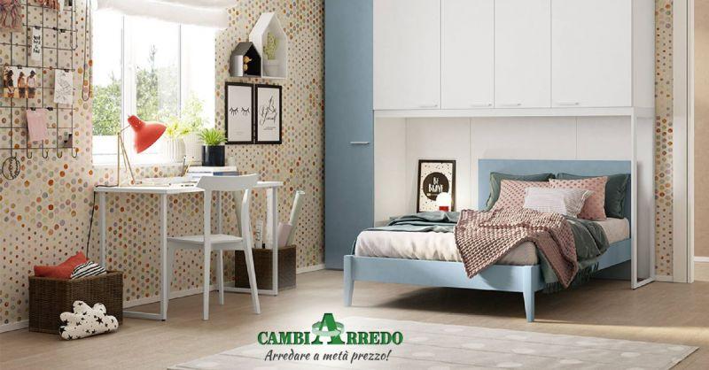 Offerta Cameretta Con Armadio A Ponte Piacenza - Occasione Camera bambini con scrivania Parma