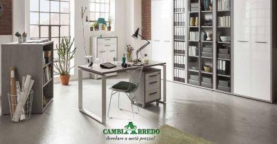 offerta mobili ufficio di design piacenza occasione arredare home office piacenza