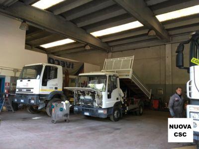 offerta manutenzione impiantistica elettrica impianto veicoli mezzi pesanti nuova csc como