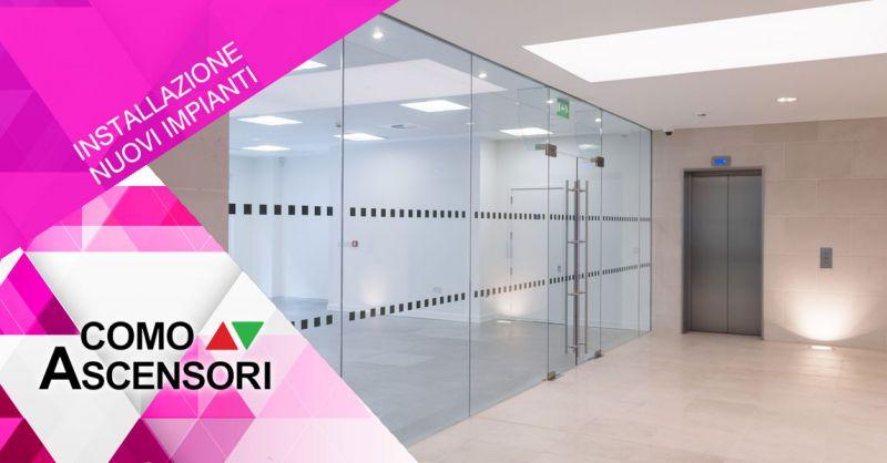 Como Ascensori - offerta installazione ascensori tradizionali - promozione progettazione piattaforme per disabili como