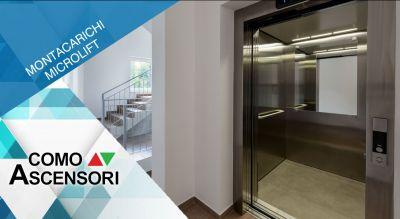 como ascensori offerta installazione montacarichi per persone promozione installazione piccolo montacarichi como