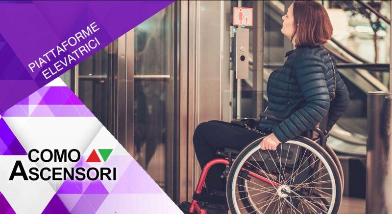 Como Ascensori - occasione piattaforme elevatrici per disabili - promozione installazione impianti per disabili  como