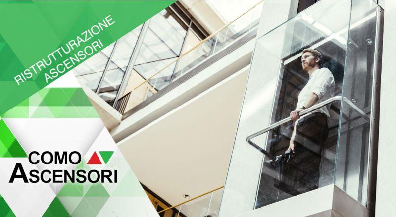 Como Ascensori - offerta ristrutturazione impianto elevatore como - promozione modernizzazione montacarichi e piattaforme per disabili