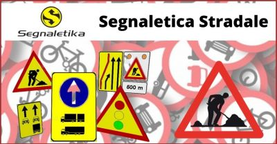 occasione segnaletica stradale e produzione segnali stradali trieste offerta segnali temporanei per cantieri