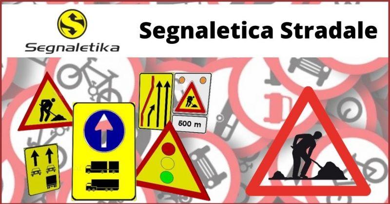 occasione segnaletica stradale e produzione segnali stradali Trieste - offerta segnali temporanei per cantieri