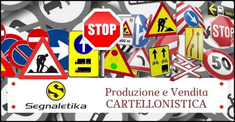 occasione cartellonistica pubblicitaria e promozionale - cartellonisitica personalizzata Trieste