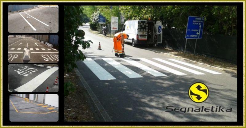 occasione segnaletica orizzontale e noleggio segnali stradali - SEGNALETIKA SRL