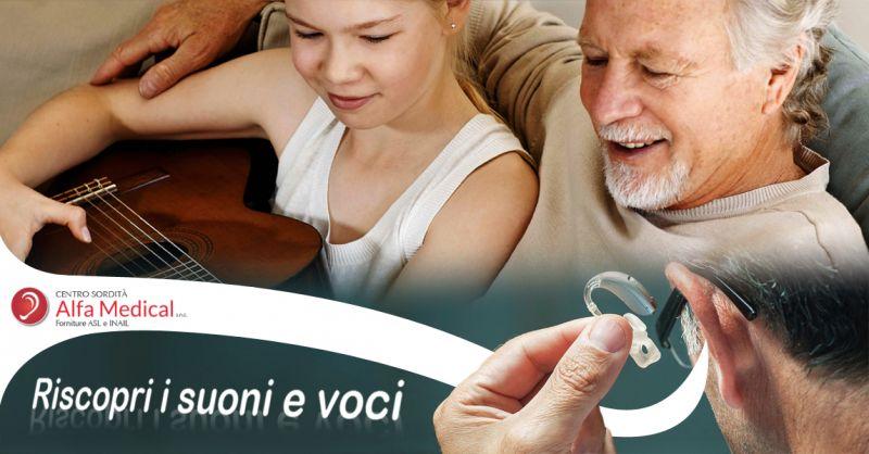 Offerta servizi per udito anziani - vendita apparecchi acustici professionali Alfa Medical