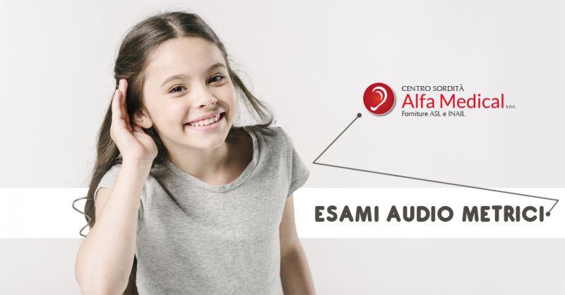 Offerta esame audiometrico professionale a Salerno - controllo patologie udito a Salerno