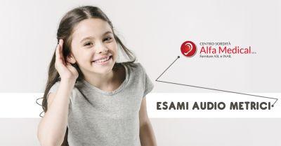 offerta esame audiometrico professionale a salerno controllo patologie udito a salerno