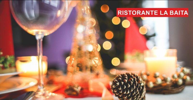 offerta pranzo di natale in baita – promozione menù di natale ristorante vicino lago di Lugano