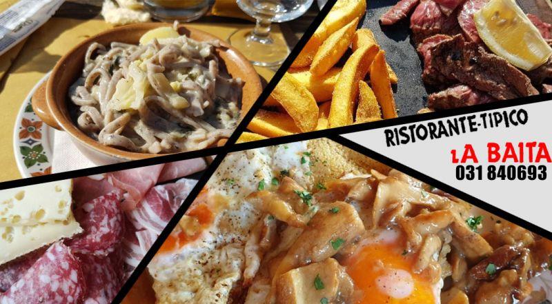 Ristorante La Baita - occasione ristorante tipico di montagna lanzo intelvi
