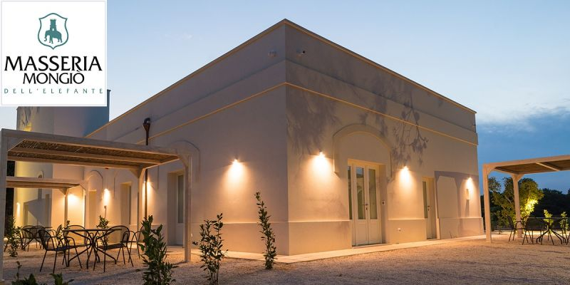 Adriatic coast overnight stay offer - Masseria oasis Alimini Lakes holiday deal Salento Puglia