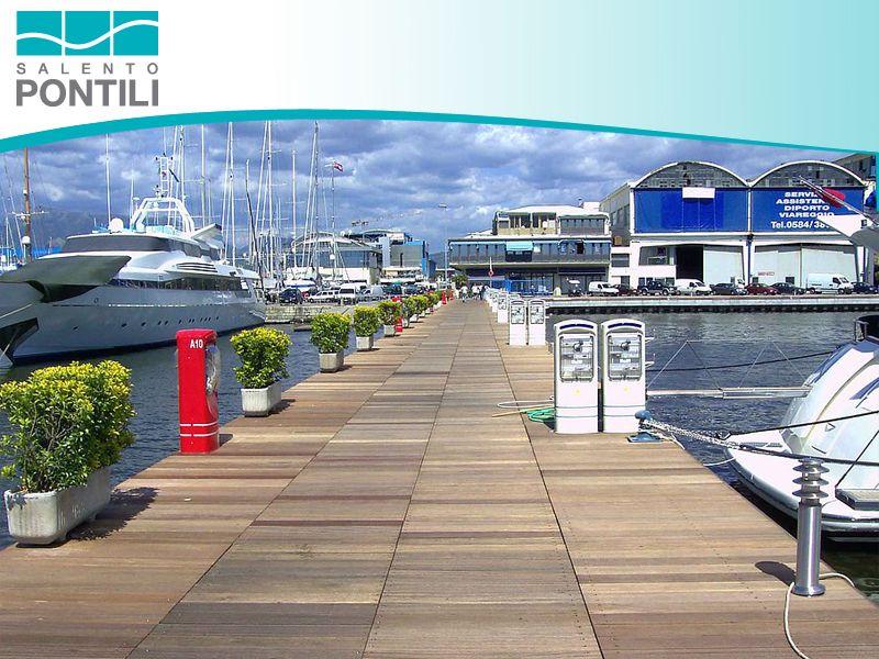 Promozione pontili fissi e galleggianti - Offerta per realizzazione pontili
