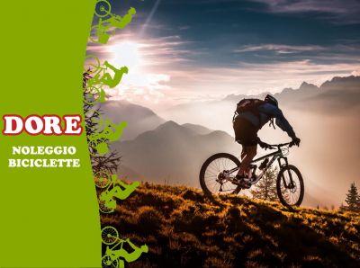 offerta noleggio biciclette promozione affitto bici week end dore
