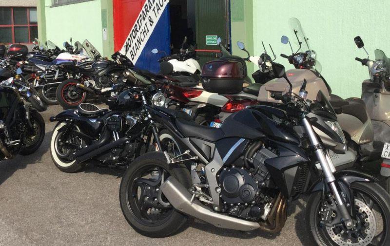 Offerta modifiche moto Honda Kawasaki - Vendita ricambi originali Yamaha Suzuki per moto Verona