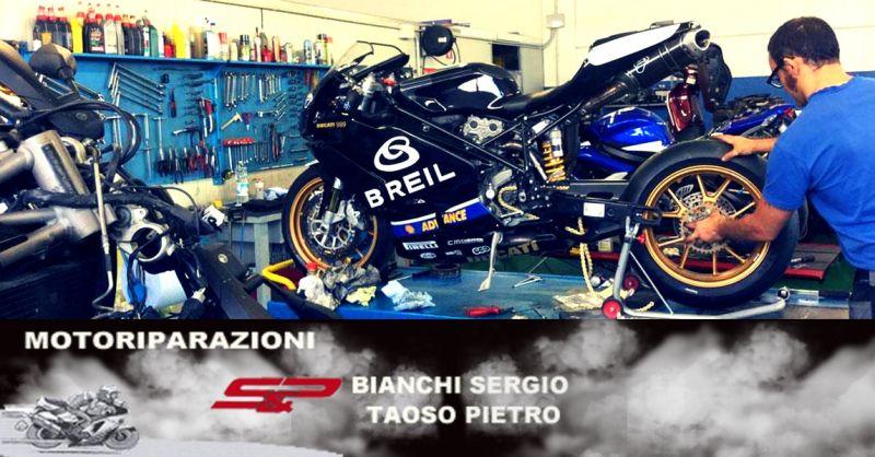 Offerta officina specializzata riparazioni moto - occasione manutenzione ordinaria moto Verona