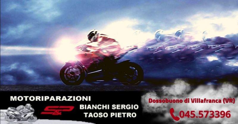 Promozione manutenzione ordinaria moto Villafranca - Offerta officina per modifiche moto Verona