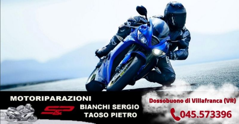 Offerta officina riparazione moto Kawasaki Yamaha Suzuki - Occasione assistenza tecnica moto Verona
